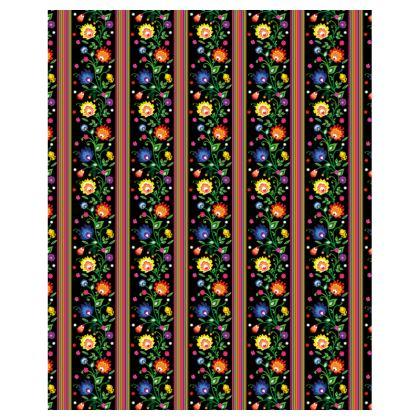 Ladies Tunic T Shirt - folk motif