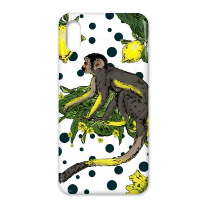 iPhone X Case - Polkadot Jungle Phonecase
