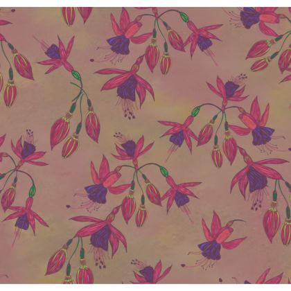 Fabulously Fuchsias (Natural) Cushion