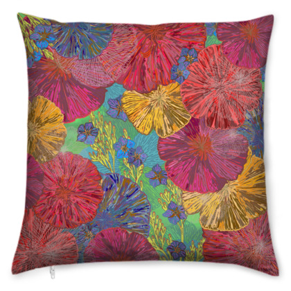 The Parting of the Poppies Cushion