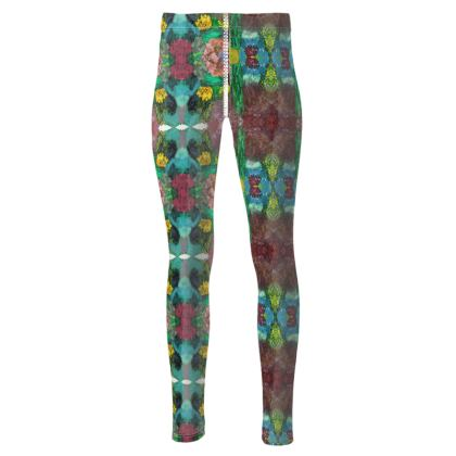 Garden inspired printed Leggings