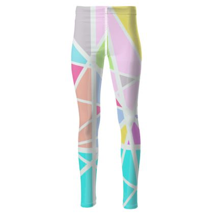 Triangular printed Leggings