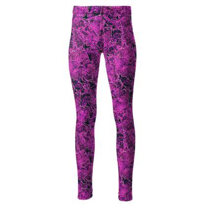 Dark Pink leggings