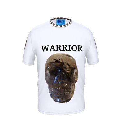 Crystal Skull Warrior Cut and Sew T Shirt