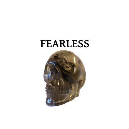 Crystal Skull Fearless Unisex T Shirt