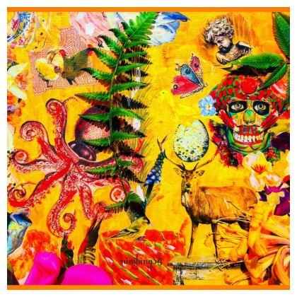 PULPO JAGD SCULL Designer China plate Keramik-Teller ninibing34