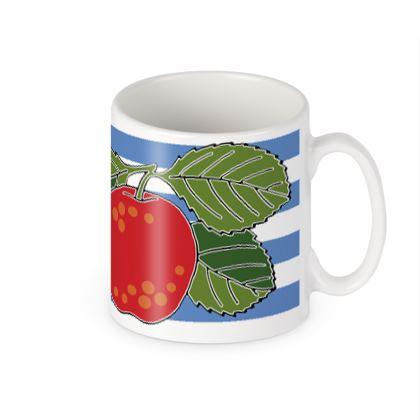 Apple Stripe mug
