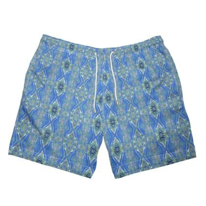 Geometric Gaudi Swimming Trunks
