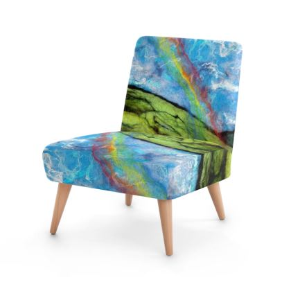 Rainbow Reflections Design Occasional Chair