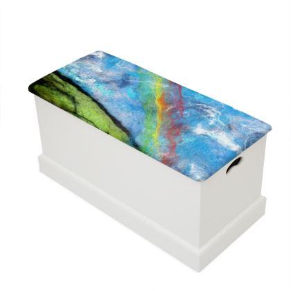 Dartmoor Rainbow Blanket Box