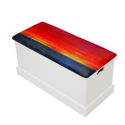 Sunset Design Blanket Box