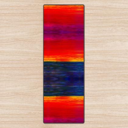 Sunset Design Yoga Mat