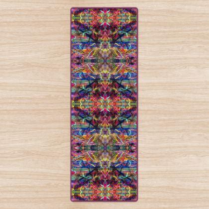 Ribbon Mandala Yoga Mat