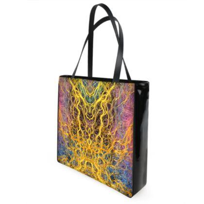 Shamanic Trance Designer Shopper Bags