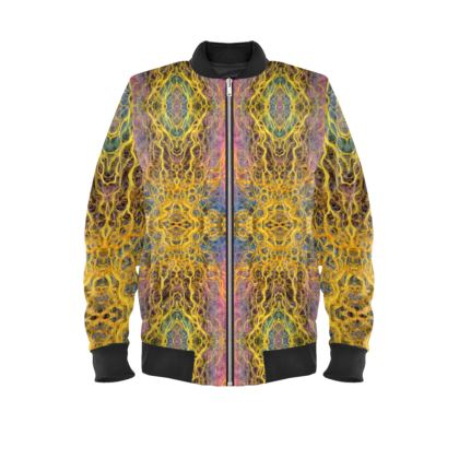 Temple of Light Ladies Bomber Jacket
