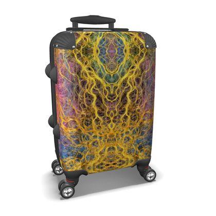 Shamanic Trance Wheeled Hard Suitcase