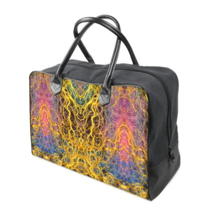 Shamanic Trance Design Luxury Holdall