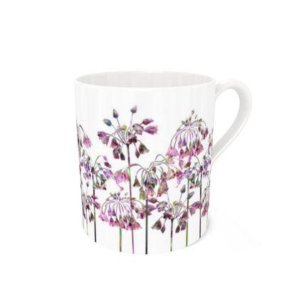 Bone China Mug - Allium Bells
