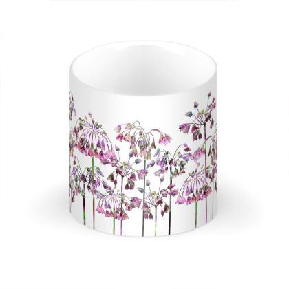 Allium Bells Large Bone China Mug