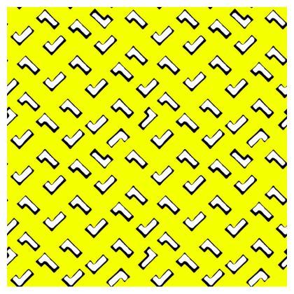 Cartoon Kid Clutch Bag in Toxic Yellow