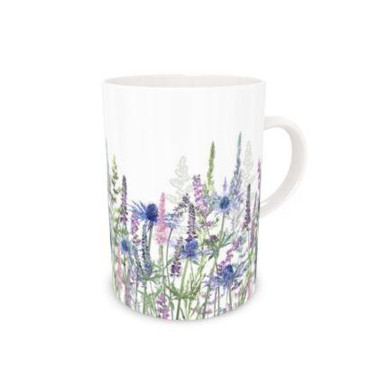 Tall Bone China Mug - Fairytale Meadow