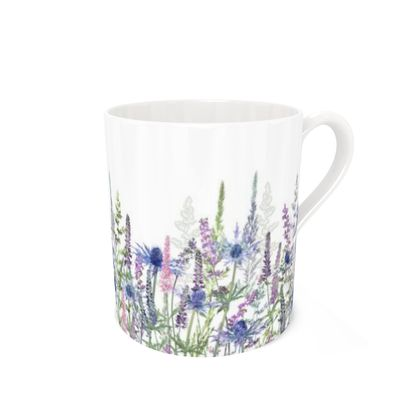 Bone China Mug - Fairytale Meadow
