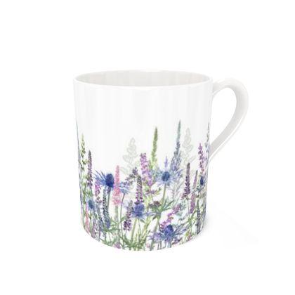 Bone China Mug - Fairytale Meadow