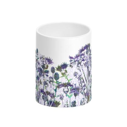 Heavenly Hedgerow Tall Bone China Mug
