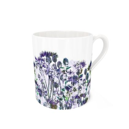 Bone China Mug - Heavenly Hedgerow