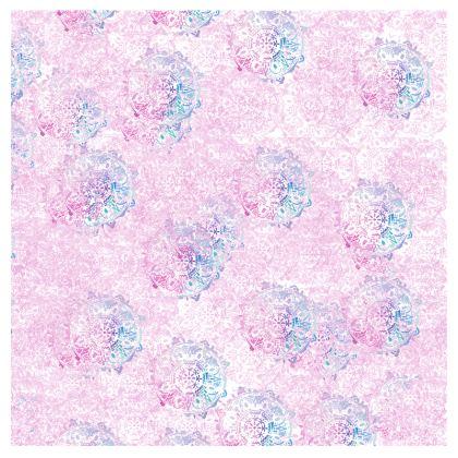 pastel mandala Bolster Cushion