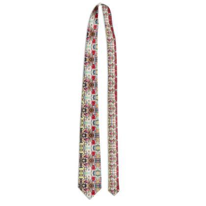 102,- Designer Krawatte ninibing34 Zebra Fish 100 % pure silk