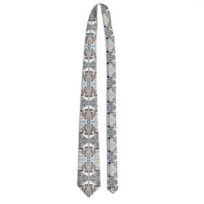 102,- #ninibing34 Designer Krawatte ninibing34 FISHES classic size