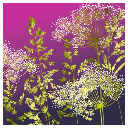 Sunset Florets Coasters