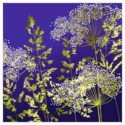 Midnight Florets Coasters