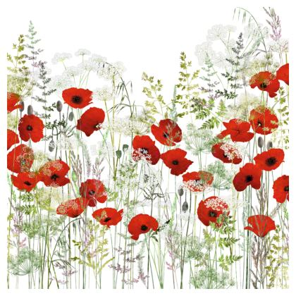 Poppy Field Coasters