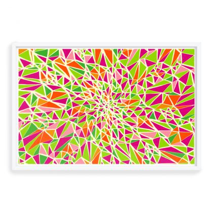 Kaleidofly Framed Art Prints