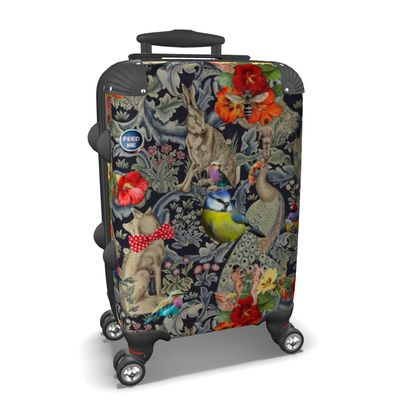 And Another Thing (Blue Tit) Suitcase