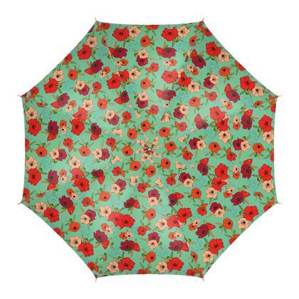 Harvest Poppies Umbrella
