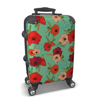 Harvest Poppies Suitcase