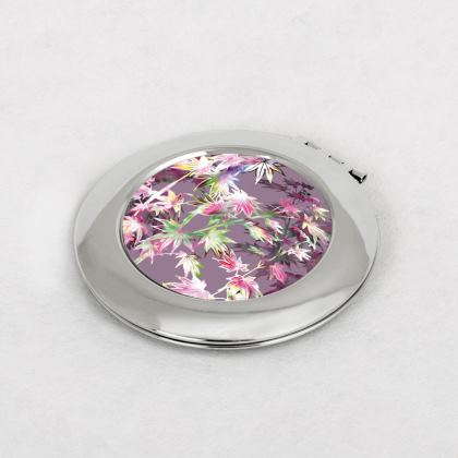 Dusky Autumn Wishes Compact Mirror