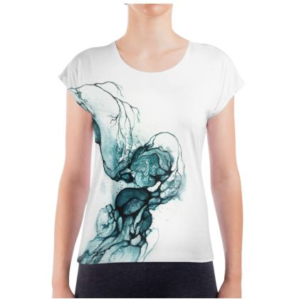 Circle - T-shirt Blue (Women)