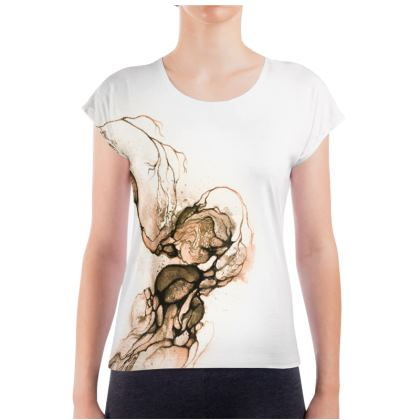 Circle - T-shirt Rose (Women)