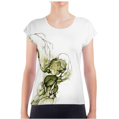 Circle - T-shirt Green (Women)