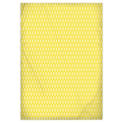 Classic Calico Yellow Duvet