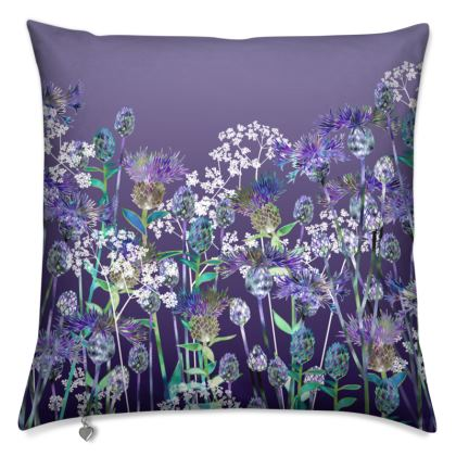 Heavenly Evening Hedgerow Cushion