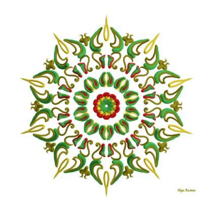 Mandala Reggae Kimono Mode