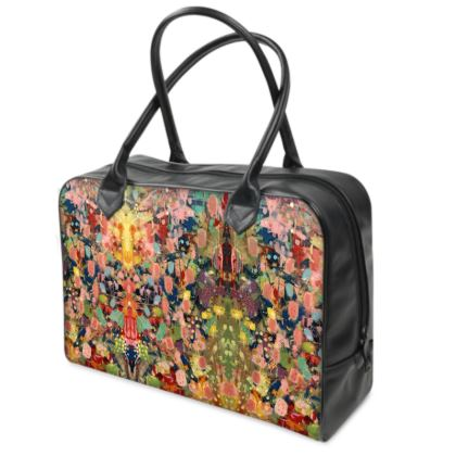 WILD CANDY Leather Holdall by Rachel Rosa ART