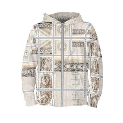 HOODIE very smart ninibing34 WOLLWEISS size M #ninibing34 #hoodie