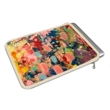 WILD CANDY MacBook Air Cover by Rachel Rosa ART