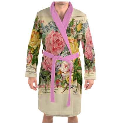 Sweet Roses Dressing Gown